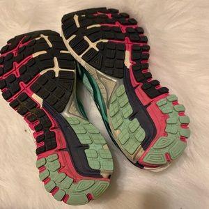 Brooks Shoes - Brooks GTS- 16 8.5 running tennis shoes aqua pink
